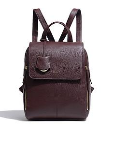 radley-lorne-close-medium-zip-top-backpack-mahoganynbsp