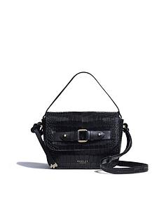radley-agnes-street-faux-croc-small-flapover-cross-body-bag-black