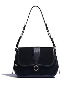 radley-aubrey-walk-suede-medium-flapover-shoulder-bag-black