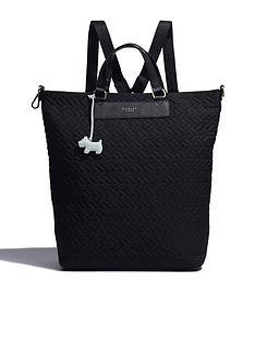 radley-barge-walk-medium-backpack-black