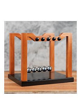harvey-makin-collection-wood-effect-newtons-cradle-16x18cm