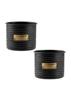 typhoon-otto-set-2-metal-herb-planters