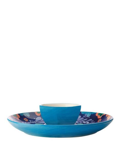 maxwell-williams-majolica-chip-and-dip-platter-set