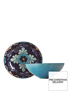 maxwell-williams-majolica-porcelain-fruitsalad-bowl