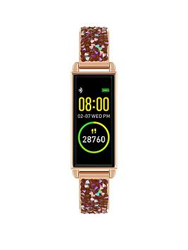 reflex-active-series-2-smart-watch-with-colour-touch-screen-and-rose-gold-crystal-rock-half-bangle-bracelet