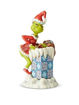 Product photograph showing Grinch Climbing Into Chimney