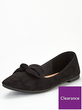 wallis-soft-knot-ballerina-black