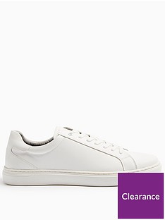 topman-vice-lace-up-trainers-white