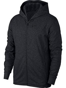 nike-dry-zip-up-hoodie-dark-grey