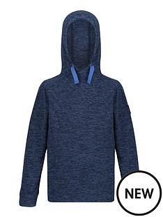 regatta-childrens-kade-hooded-fleece-navy