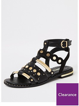 river-island-embellished-caged-gladiator-sandal-black