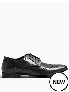 topman-bedd-leather-brogues-black