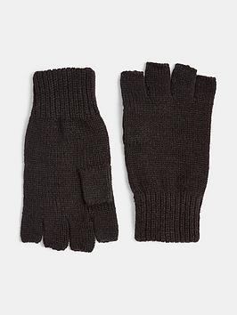 topman-fingerless-gloves-blacknbsp