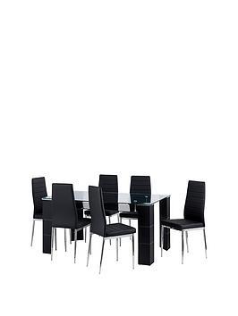 julian-bowen-set-of-greenwich-dining-table-6-greenwich-chairs