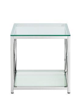 julian-bowen-miami-chrome-and-glassnbsplamp-table