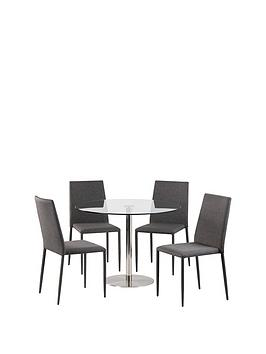 julian-bowen-milan-100-cm-round-diningnbsptablenbspnbsp4-jazz-grey-chairs