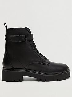 mango-leather-lace-up-ankle-boot-black