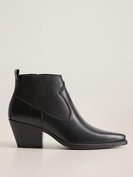 mango-leather-cowboy-ankle-boot-black