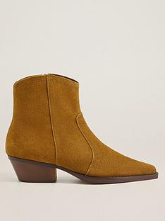 mango-suede-cowboy-ankle-boots-brown