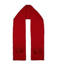 monsoon-girls-ruby-heart-velvet-bow-cable-scarf-red