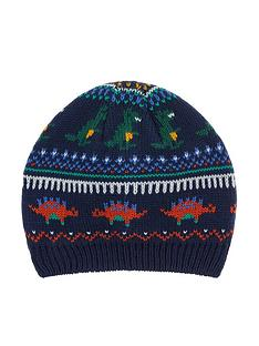 monsoon-boys-dino-clay-fairisle-novelty-beanie-hat-multi