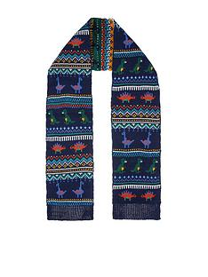 monsoon-boys-dino-clay-fairisle-novelty-scarf-multi