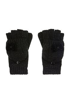 monsoon-girls-stella-sparkle-cable-bow-gloves-black