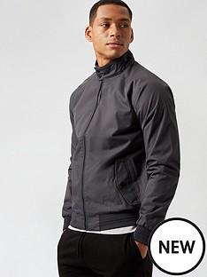burton-menswear-london-core-harrington-jacket--nbspcharcoal
