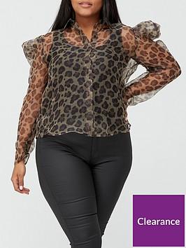 ax-paris-curve-leopard-chiffon-top-leopard
