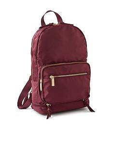 accessorize-packable-rucksack-burgundy
