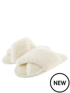 accessorize-luxe-faux-fur-slider-slippers-cream