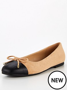 v-by-very-lilly-wide-fit-toe-cap-ballerina-shoes-taupe