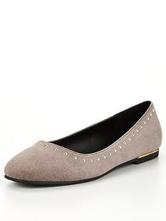 v-by-very-lexi-studded-ballerina-shoes-grey
