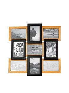 sass-belle-sass-belle-black-natural-wood-multi-frame-9-photo