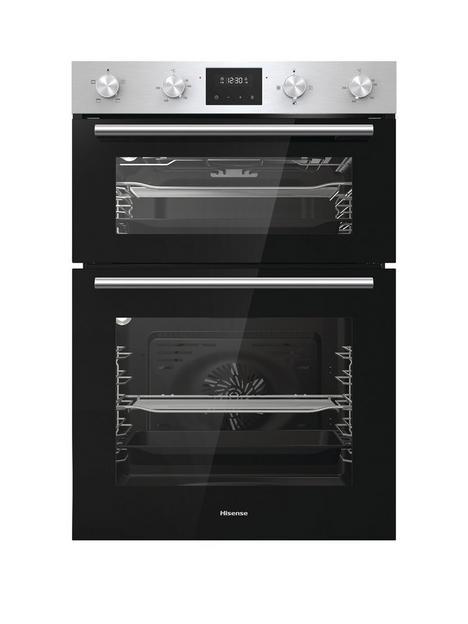 hisense-bid95211xuk-60cm-built-in-double-oven-stainless-steel