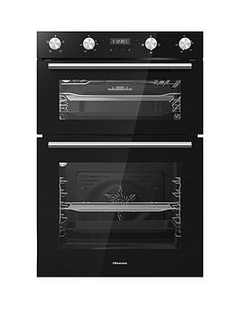 hisense-bid95211bguk-60cm-built-in-double-oven-black