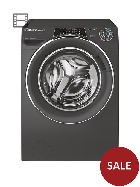 candy-rapido-ro1696dwmceb-80-9kg-load-1600-spinnbspwashing-machine-black