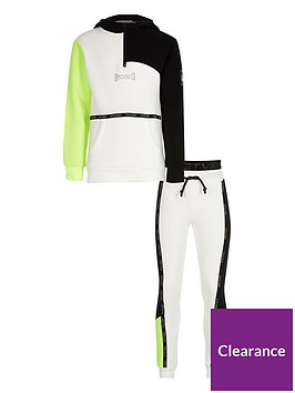 river-island-boys-active-half-zip-tracksuit-white