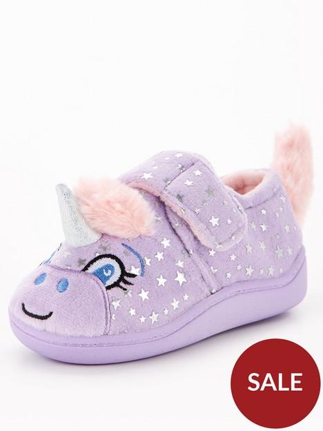 v-by-very-unicorn-slipper-lilac