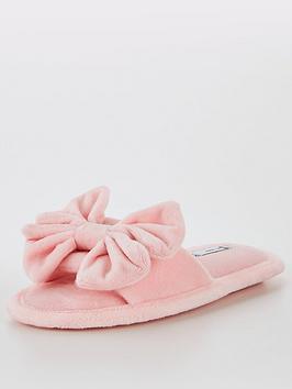 v-by-very-girls-bow-slider-slipper