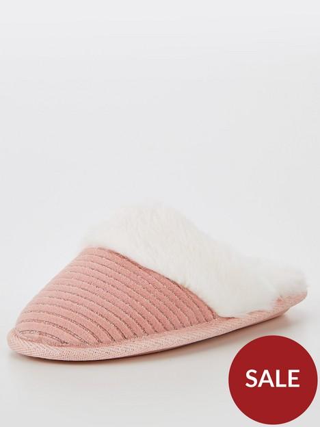 v-by-very-girls-mule-slipper-light-pink