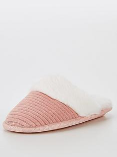 v-by-very-girls-mule-slipper-light-pink