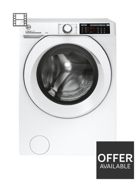 hoover-h-wash-500-hw-412amc1-80nbsp12kg-loadnbsp1400-spin-washing-machine-white
