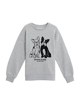mango-girls-french-bulldog-sweatshirt-grey-marl