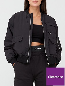 missguided-missguidednbspoversized-pocket-bomber-jacket-black