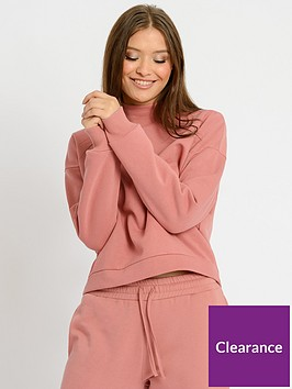 chelsea-peers-nycnbsploungenbspfunnel-neck-sweater-mauve