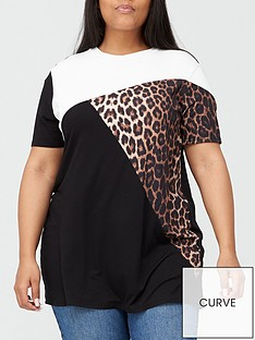 v-by-very-curve-colour-block-tunic-multi