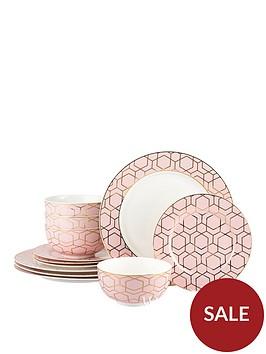 waterside-12-piece-tallulah-pink-gold-dinner-set