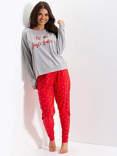 pour-moi-pour-moi-all-the-jingle-ladies-jersey-jogger-pj-set