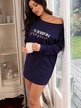 pour-moi-ready-in-a-prosecconbspsleep-t-shirt-navy